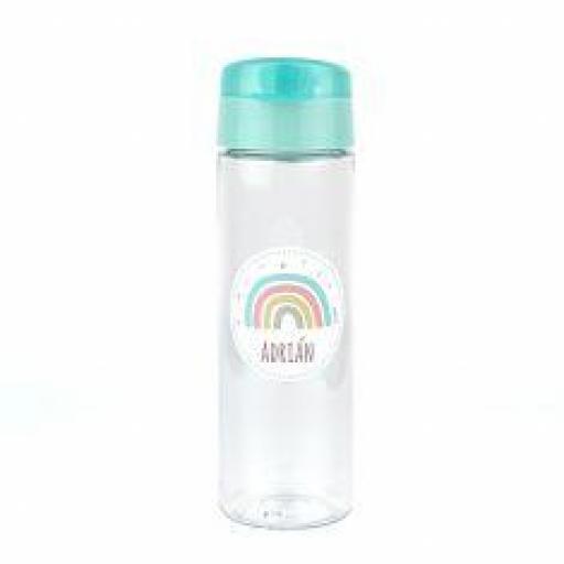 Botella 600ml Personalizada Arcoiris