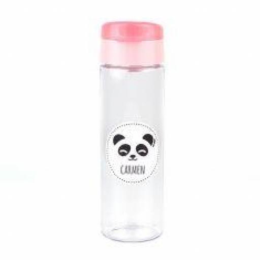 Botella 600ml Personalizada Panda (colores)