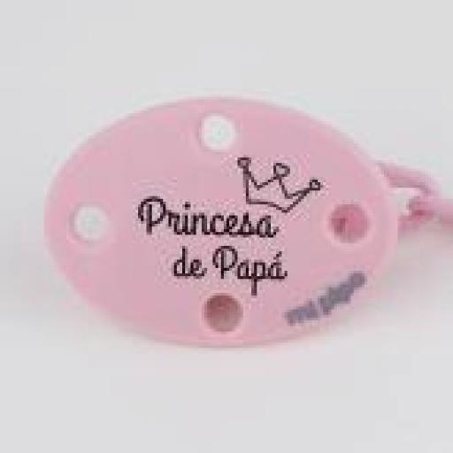 Broche Prínicipe /princesa de papá