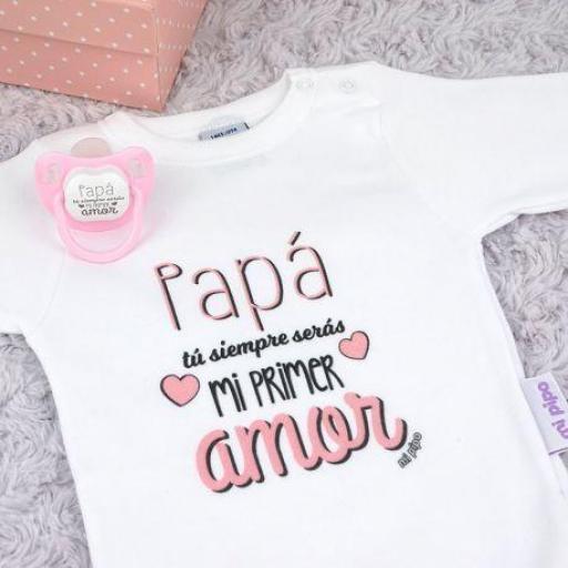 "Cajita ""papá mi primer amor"" (colores)"
