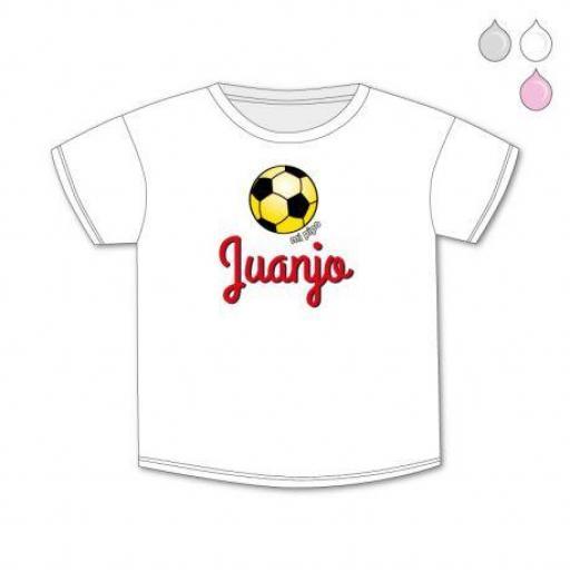 Camiseta bebé personalizada