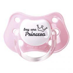 "Chupete ""Soy una princesa"""