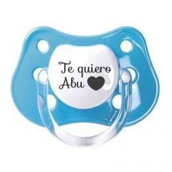 "Chupete ""Te quiero Abu"""