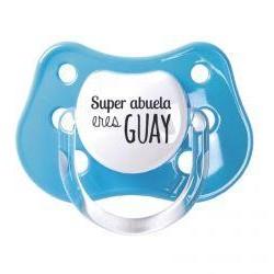 """Chupete """"Super abuela guay"""""""