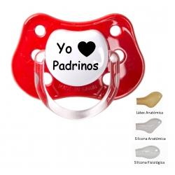 "Chupete ""Yo love padrinos"""