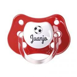Chupete fútbol (colores)