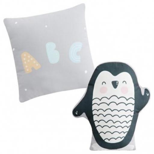 2 cojines con forma Penguin