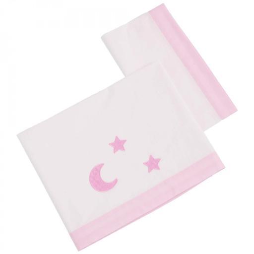 Tríptico sábanas Venus rosa