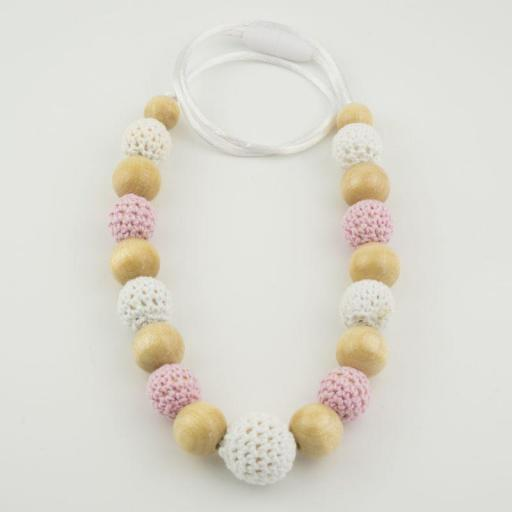 Collar lactancia ganchillo (colores)