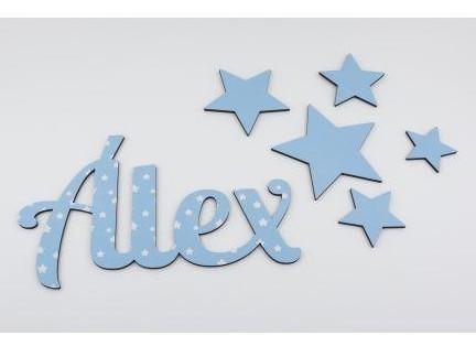Pack de 5 estrellas para decorar [1]