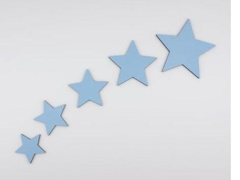 Pack de 5 estrellas para decorar [0]