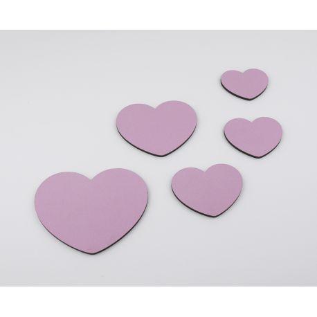 Pack de 5 corazones para decorar