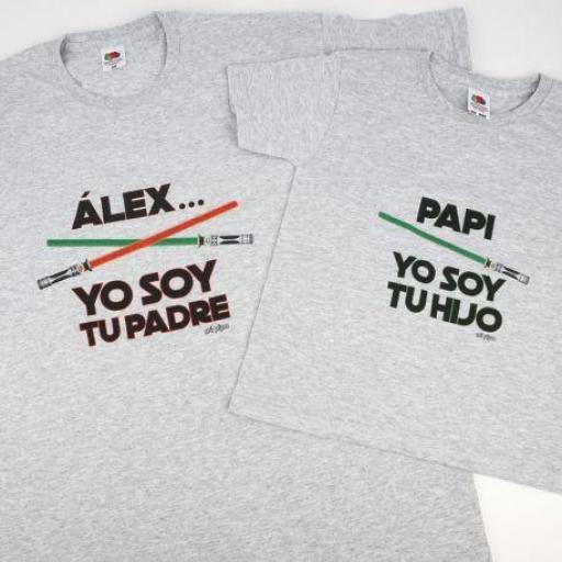 Pack 2 camisetas Yo soy tu