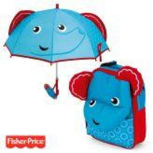 Pack mochila + paraguas Animales (modelos)