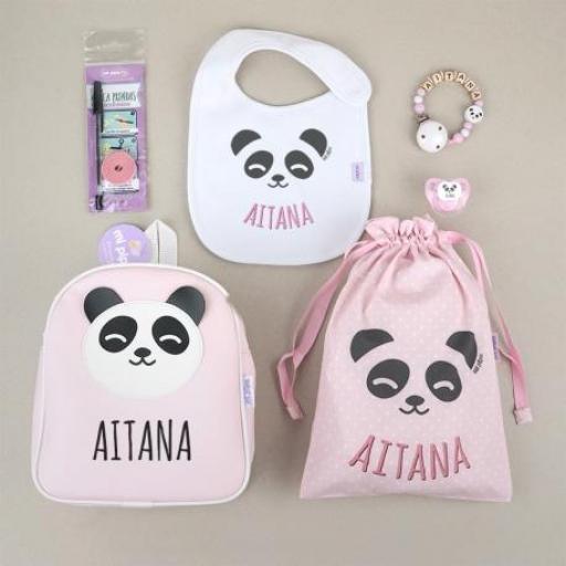 Pack vamos al cole Panda (colores)