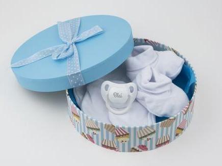 Cajita set recién nacido