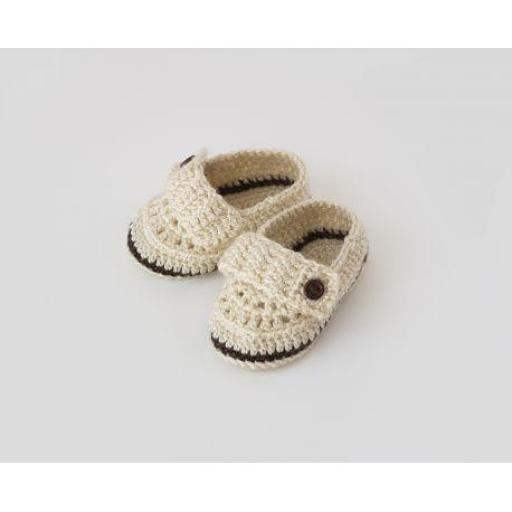 Zapatos ganchillo (colores) [2]