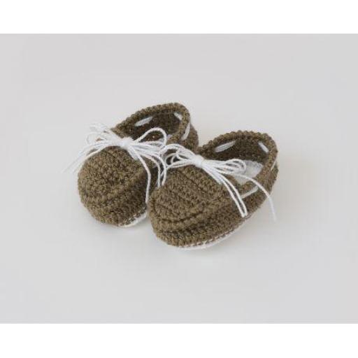 Zapatos ganchillo (colores) [1]