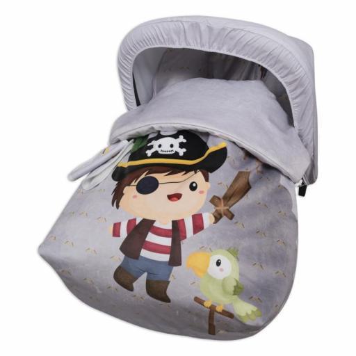Saco portabebé grupo 0 Bad Pirate