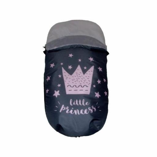 Saco silla / capazo Little prince/princess