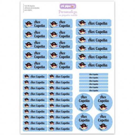 46 etiquetas (colores)