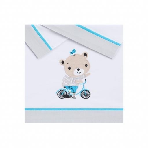 Tríptico sábanas Bike