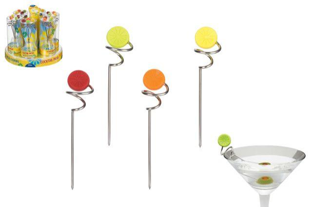 Set 4 pinchos cocktail