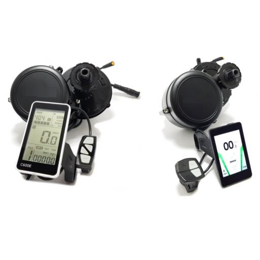 Kit eléctrico para bicicleta Motor Central [2]