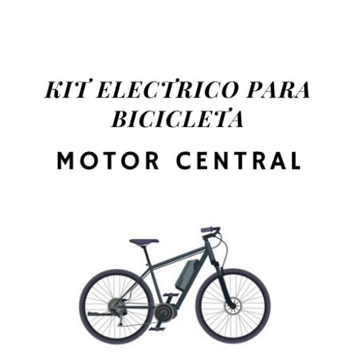 Kit eléctrico para bicicleta Motor Central