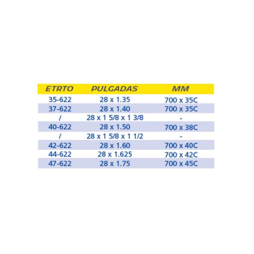 CÁMARA MICHELIN A3 700x35/47 B y C PRESTA 40mm [1]