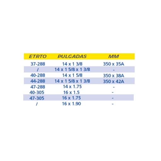 "CÁMARA MICHELIN I4 14/16"" x 1.5/1.9 / 350A SCHRADER 34MM [1]"