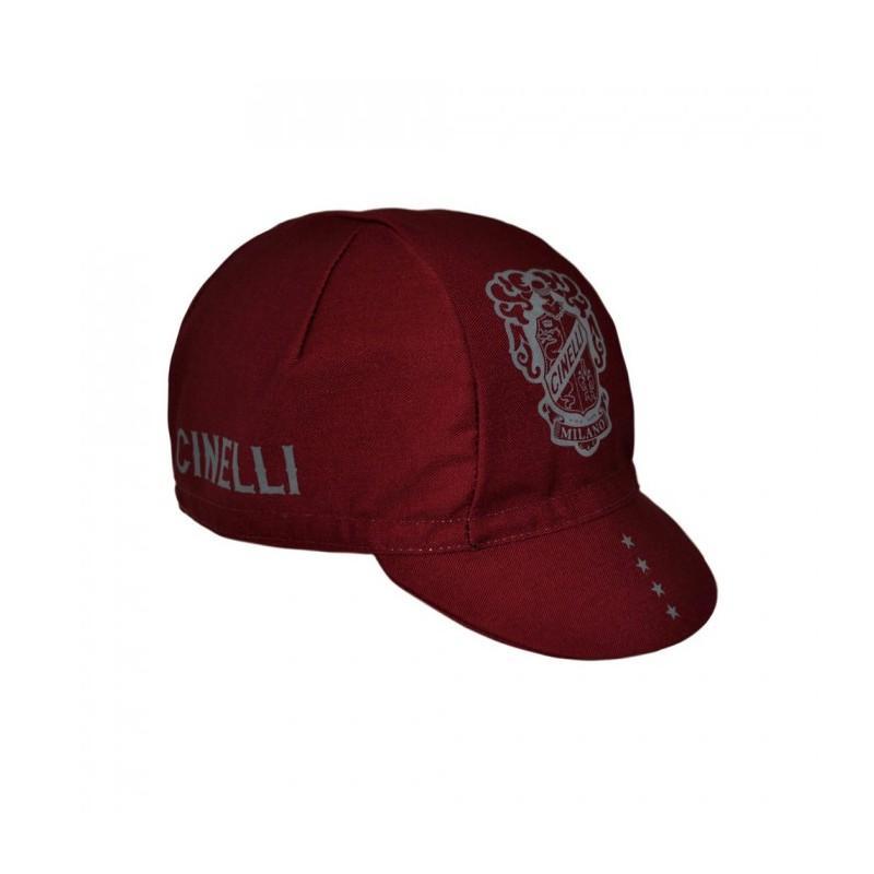 Gorra cinelli CREST BURGUNDY CAP