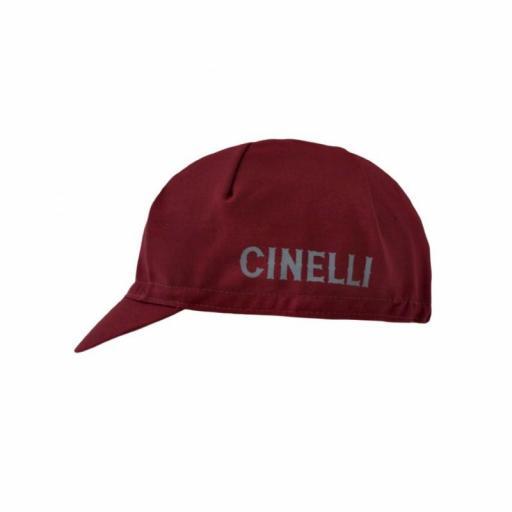 Gorra cinelli CREST BURGUNDY CAP [1]