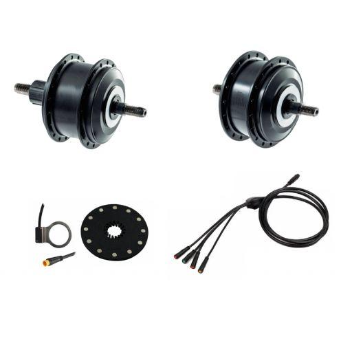 """Kit eléctrico para bicicleta Rueda 28"""" Batería en el portabultos [2]"""