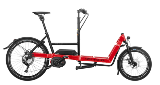 BICICLETA CARGO EBIKE PACKSTER 40  TOURING RIESE & MÜLLER