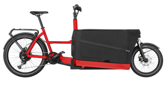 BICICLETA CARGO EBIKE PACKSTER 70 TOURING RIESE & MÜLLER