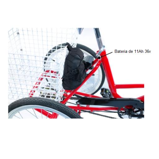 Triciclo eléctrico plegable  [1]