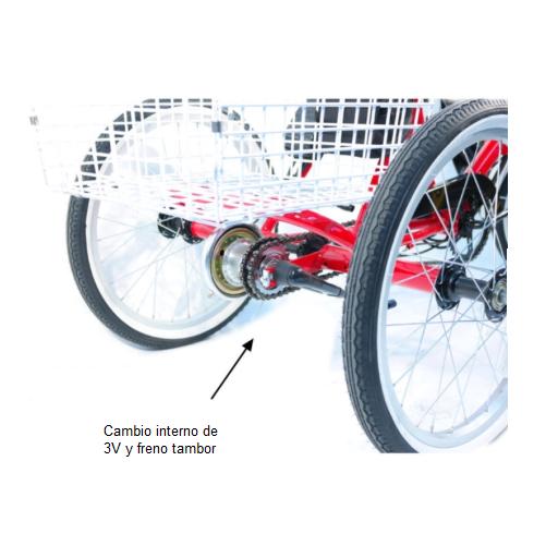 Triciclo eléctrico plegable  [2]
