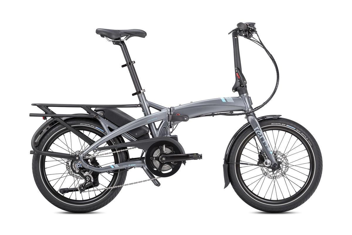 Bicleta plegable electrica Tern vektron p7i