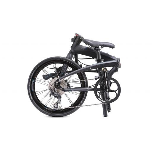 Bicicleta plegable Tern Verge P10 NEGRA PLEGADA [1]