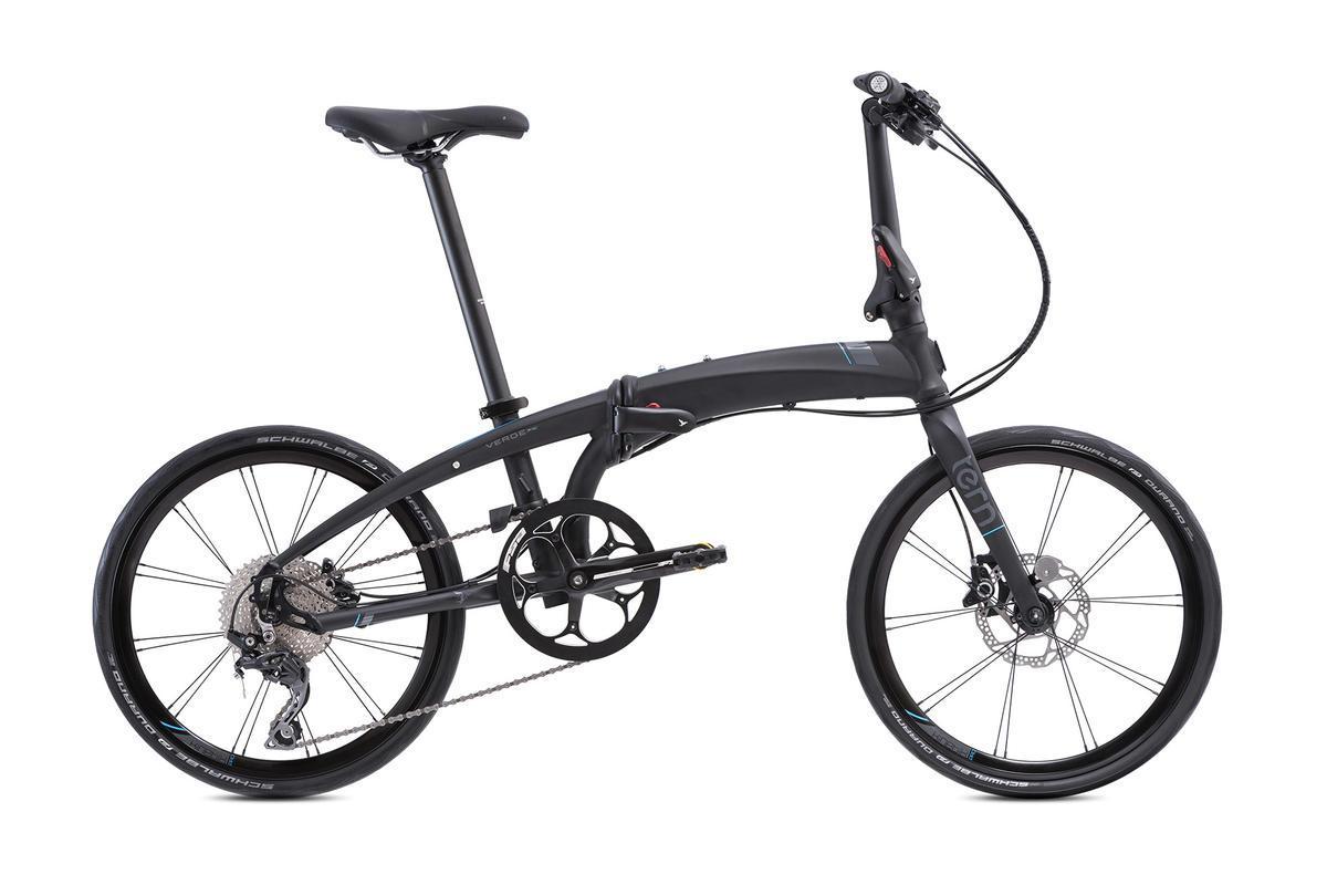 Bicicleta plegable Tern Verge P10 NEGRA