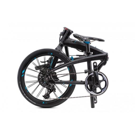 Bicicleta plegable Tern Verge X11 plegada [1]