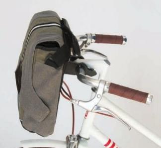 bolsa manillar bicicleta