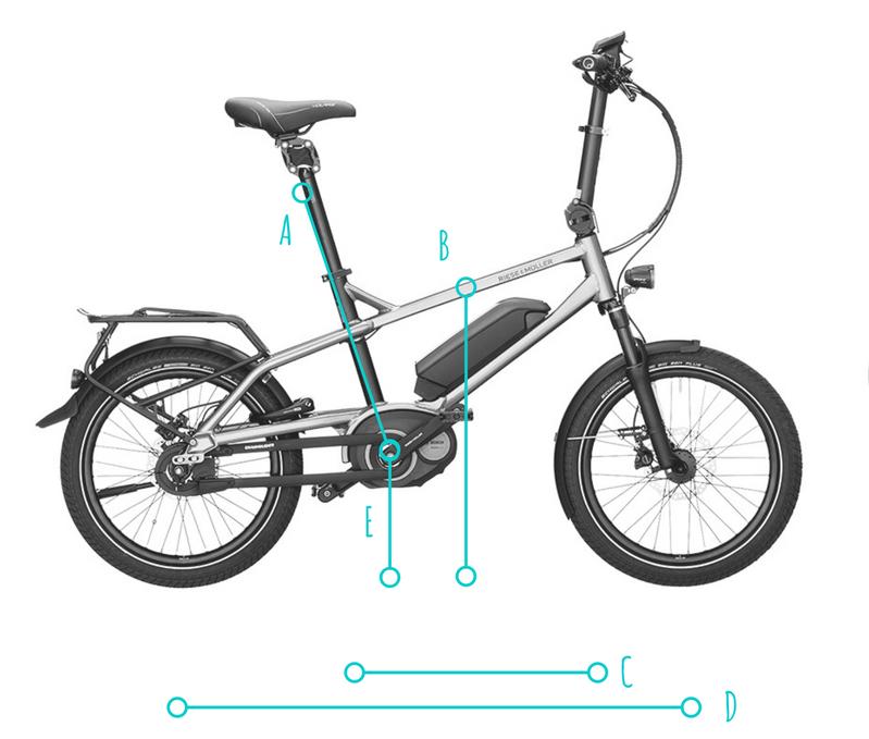 Bicicleta minivelo eléctrica Tinker
