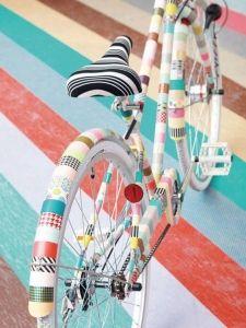 escaparate decoracion bicicletas