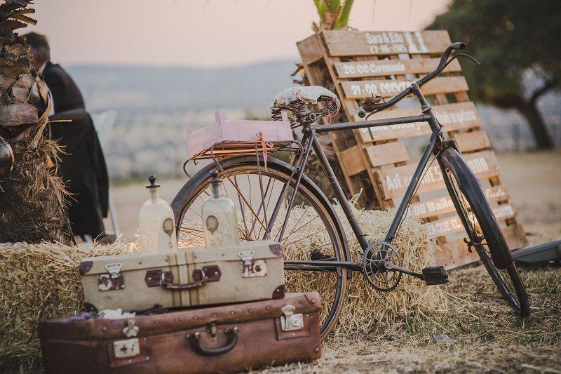 escaparate decoracion bicicletas eventos