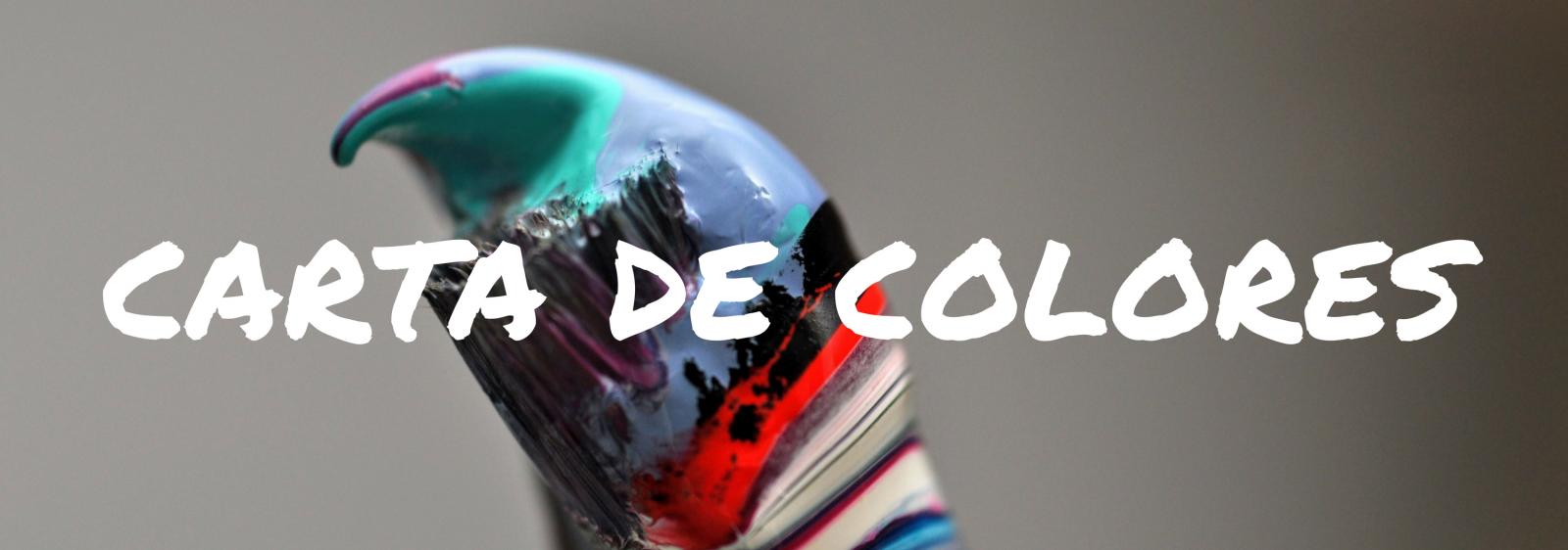 carta de colores pintura bicicletas zaragoza
