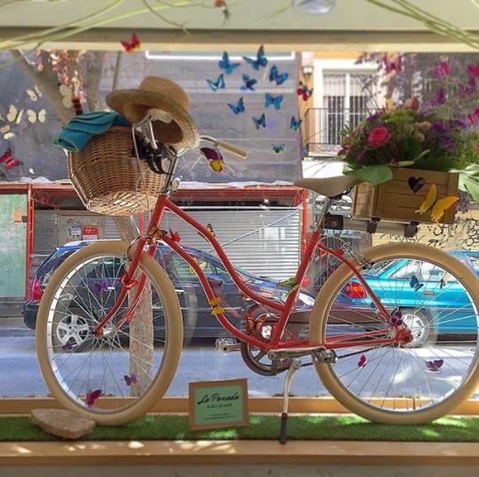 escaparate bicicleta