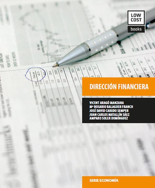 DIRECCIÓN FINANCIERA. 978-84-940663-2-0