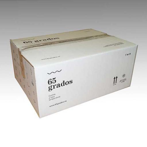 Caja con 4 Cuartos de Cordero lechal. [2]